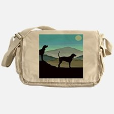 Blue Hills Coonhounds Messenger Bag