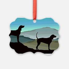 Blue Hills Coonhounds Ornament