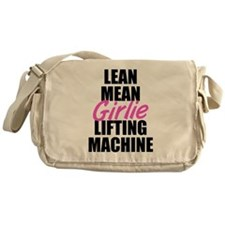Girlie lifting machine Messenger Bag