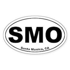 Santa Monica (SMO) Oval Decal
