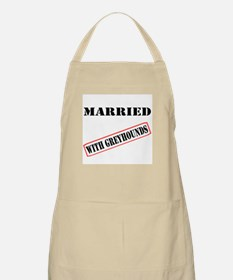 MARRIED WITH GREYHOUNDS BBQ APRON