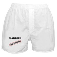 MARRIED WITH GREYHOUNDS BOXER SHORTS