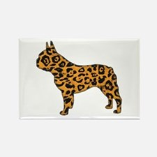 Jaguar Frenchie Rectangle Magnet