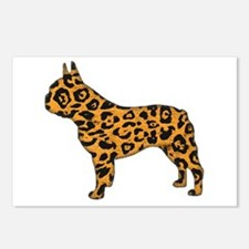 Jaguar Frenchie Postcards (Package of 8)