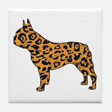 Jaguar Frenchie Tile Coaster