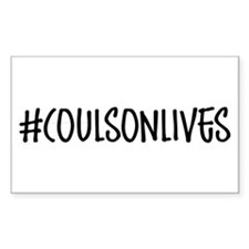 #CoulsonLives Decal