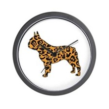 Jaguar Frenchie Wall Clock