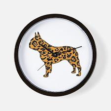Jaguar Frenchie Wall Clock