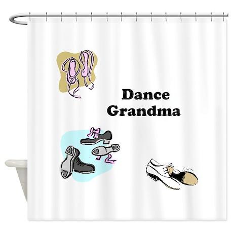 Dance Grandma Shower Curtain