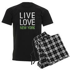 Live Love New York Pajamas