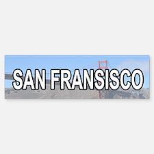 San Fransisco Bumper Bumper Bumper Sticker