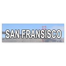 San Fransisco Bumper Bumper Sticker