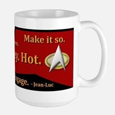 Tea, Earl Grey, Hot Captain Picard MugMugs