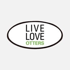Live Love Otters Patches