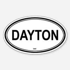 Dayton (Ohio) Oval Decal