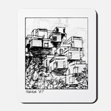 Habitat '67 Dwelling Mousepad