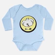 2-Mr P2.png Long Sleeve Infant Bodysuit