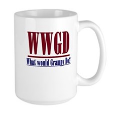 WWGD (What would Grampy do?) Mug