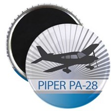 """Aircraft Piper PA-28 2.25"""" Magnet (100 pack)"""