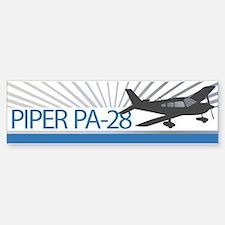 Aircraft Piper PA-28 Bumper Bumper Sticker