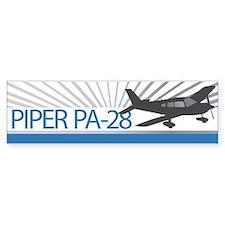 Aircraft Piper PA-28 Bumper Sticker