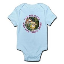 Goldilocks and the Three Bears Infant Bodysuit
