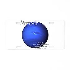 Neptune Aluminum License Plate