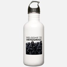 Welcome To Democracy Water Bottle