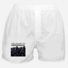Welcome To Democracy Boxer Shorts