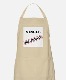 SINGLE WITH GREYHOUNDS BBQ Apron