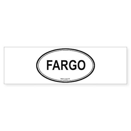 Fargo (North Dakota) Bumper Sticker