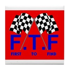 FTF Flag Tile Coaster