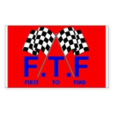 FTF Flag Rectangle Decal