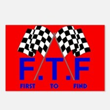 FTF Flag Postcards (Package of 8)