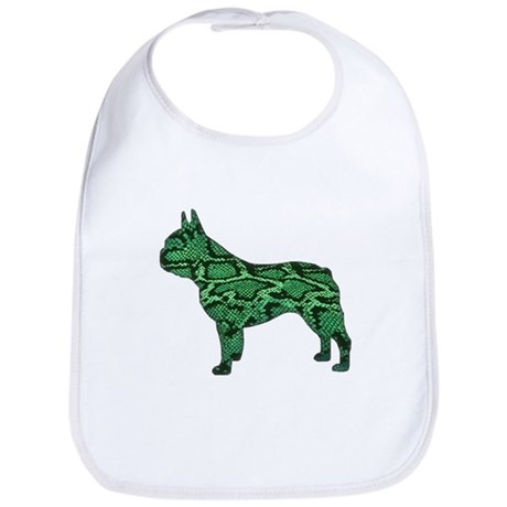Snake Frenchie Bib