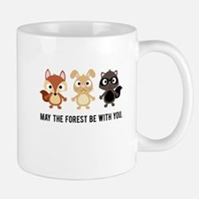 May the Forest Be With You Coffee Cup