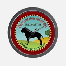 Bullmastiff Wall Clock