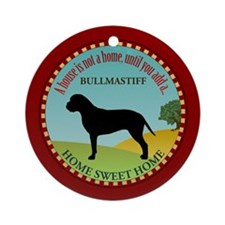 Bullmastiff Ornament (Round)