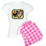 Barnyard Game Fowl Women's Light Pajamas