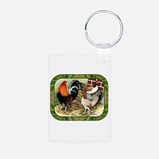 Barnyard Game Fowl Keychains