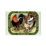 Barnyard Game Fowl Rectangle Magnet (100 pack)
