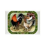 Barnyard Game Fowl Rectangle Magnet (10 pack)