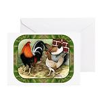 Barnyard Game Fowl Greeting Cards (Pk of 20)