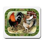 Barnyard Game Fowl Mousepad