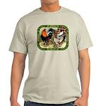 Barnyard Game Fowl Light T-Shirt