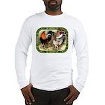 Barnyard Game Fowl Long Sleeve T-Shirt