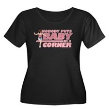 Nobody Puts Baby in a Corner Women's Plus Size Tee