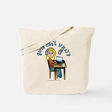 Broadcaster (Blonde) Tote Bag