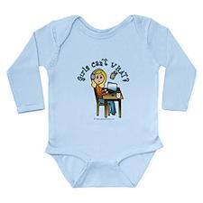 Broadcaster (Blonde) Long Sleeve Infant Bodysuit