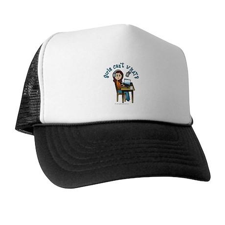 Broadcaster (Light) Trucker Hat